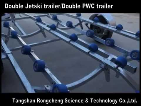 Double Jetski Trailer Double PWC Trailer