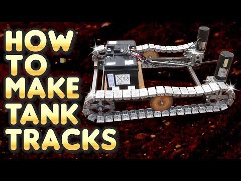 How to MAKE Caterpillar (Tank) Tracks by VegOilGuy