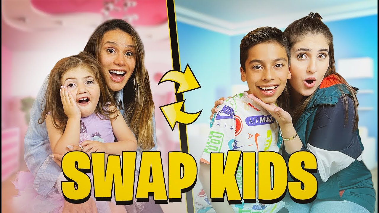 SWAPPING KIDS with THE ROYALTY FAMILY! (FERRAN REGRETS IT)