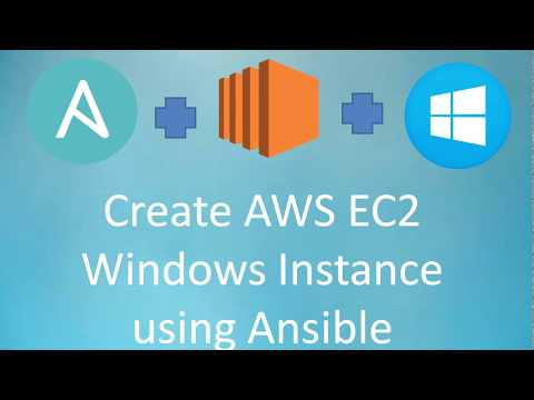 Ansible Automation | Create Windows EC2 Instance using Ansible