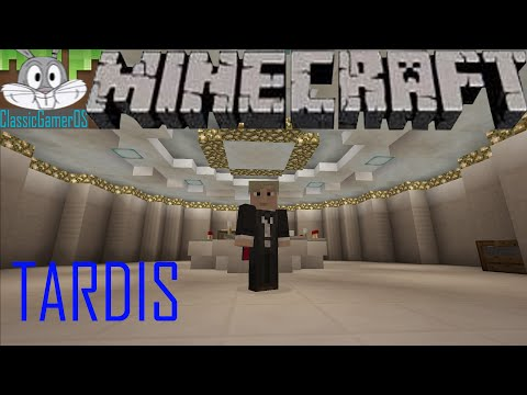 How To Build A TARDIS In Minecraft