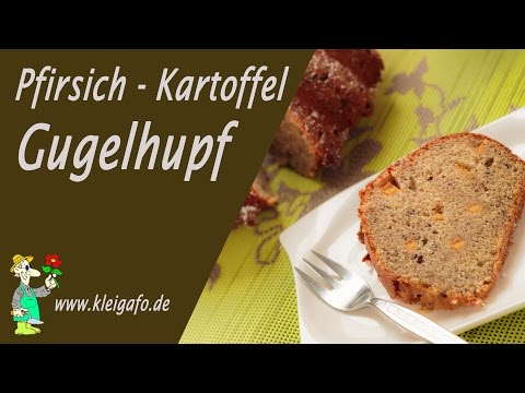 Pfirsich Kartoffel Gugelhupf