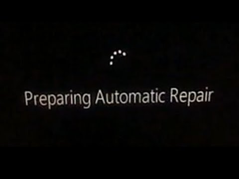 How to disable automatic repair on Windows 8 (dual boot)
