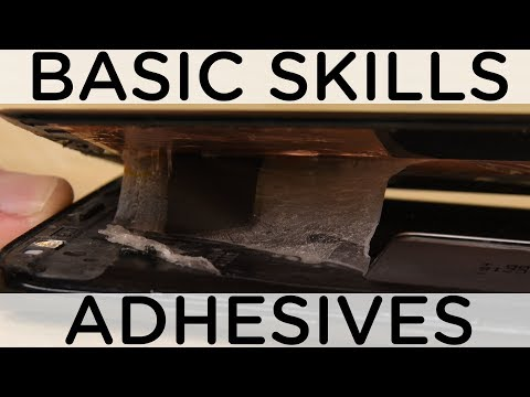 How To Deal with Adhesives in Repair - Basic Skills