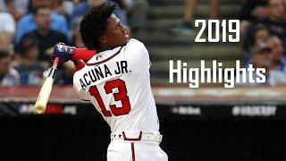 Ronald Acuña Jr. -  FULL 2019 Highlights