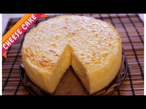 Easy Cheese cake | Melt in mouth Creamy Cheesecake | Cookkurry