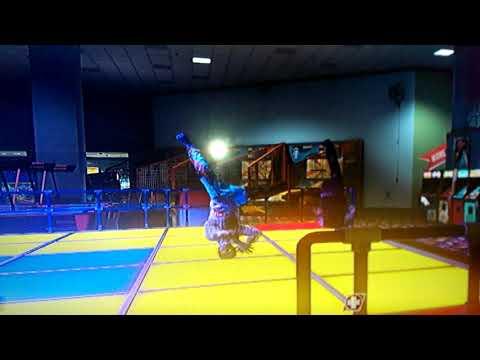 SPACELAND ZOMBIES: BREAK DANCING SCENE.