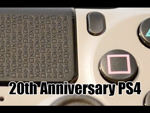 Fancy PS4 | 20th Anniversary Edition Playstation 4 (PS4) Unboxing