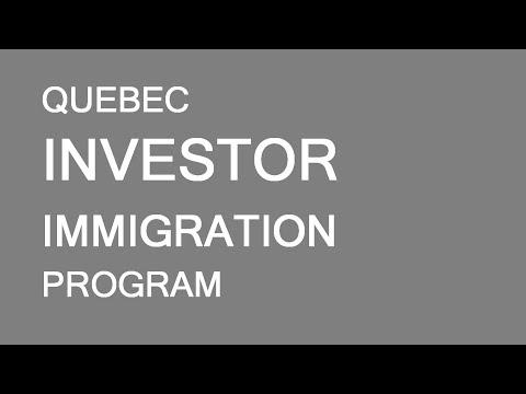 Quebec investors immigration program. Basic requirements. LP Group Canada