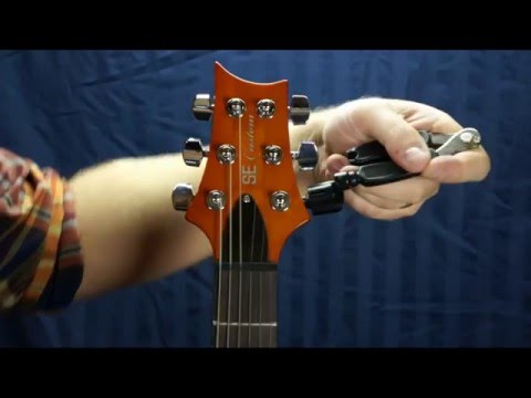 How to Change Electric Guitar Strings: PRS Method