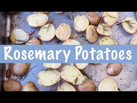 Roasted Rosemary Potatoes | The Frugal Chef