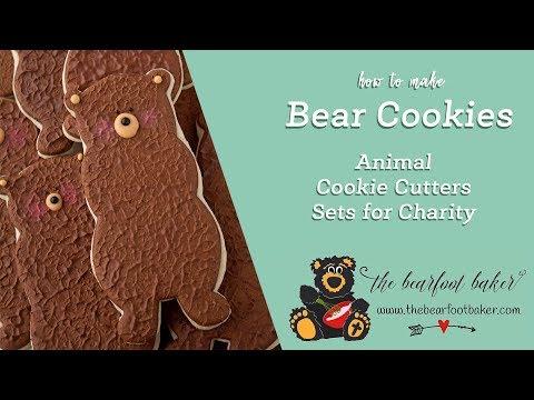 How to Make Simple Fun Furry Bear Cookies | The Bearfoot Baker