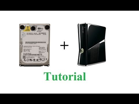 How to use a laptop hard drive in an XBOX 360 slim using HDD HACKR v1.30