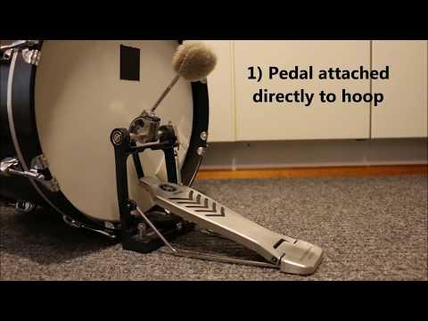 Bass drum suspension mounting 2 (Gretsch 12