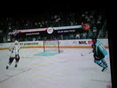 NHL 09 - Compilation Fight x360