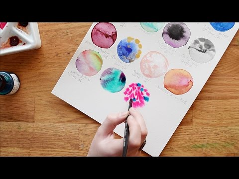 My favorite learning resource (not Youtube) for watercolor and more! :)