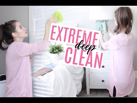 EXTREME DEEP CLEANING MOTIVATION // MASTER BEDROOM DEEP CLEAN // THE SIMPLE LIFE