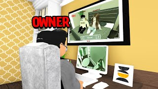 We Moved In TOGETHER.. Home Owner Was Secretly SPYING On Us! (Roblox Bloxburg)