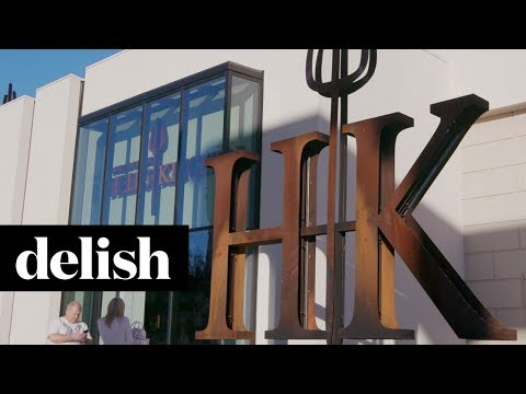 Gordon Ramsay's Hell's Kitchen Restaurant Is Just Like The Show | Delish