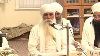 Sant Gurbachan Singh Ji Bhindranwale Meets Nihang Singh Jathedar Baba Mitt Singh Ji Hazoor Sahib