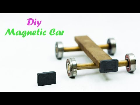 How To Make A Magnetic Car Very Easy