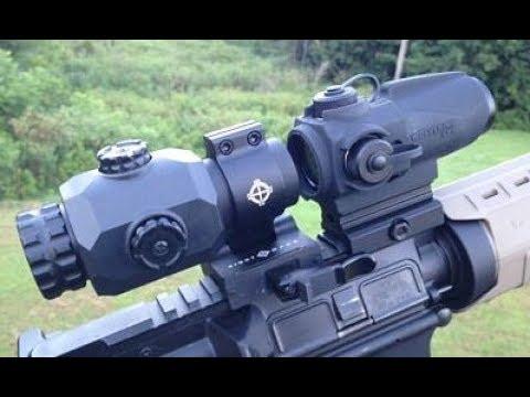 SightMark Wolverine CSR LQD and the SightMark 3x Magnifier XT-3