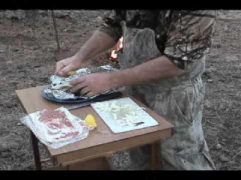 Foil wrap trout