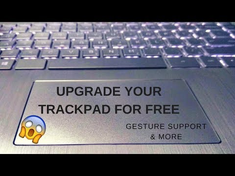 How to install Precision Trackpad drivers in any Laptop.    Step by step guide 😎
