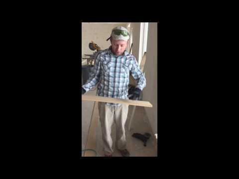 Window sills: How to measure cut and install your own window sills and trim.