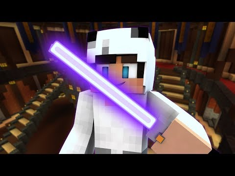 CREATING A LIGHTSABER | Minecraft Space Academy (Minecraft Star Wars Roleplay E6)