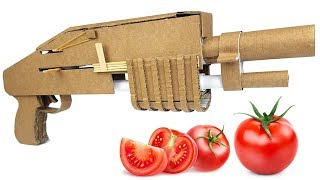 How To Make TOMATO Shotgun - Cardboard