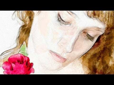 Photoshop Tutorial: How to Make a Beautiful, Watercolor Portrait from a Photo