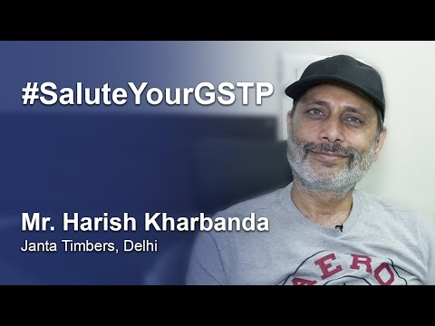Harish Kharbanda salutes GST Practitioners