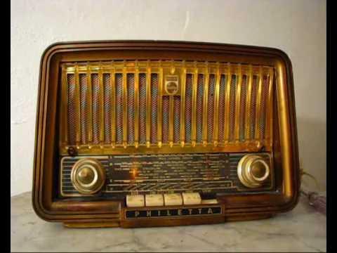 Philips Philetta   Röhren Radio