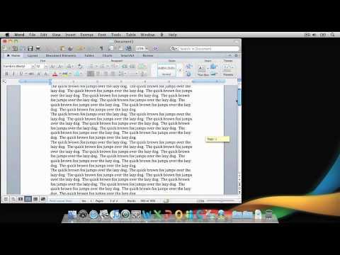 Lesson 3 - Navigate through a Word document
