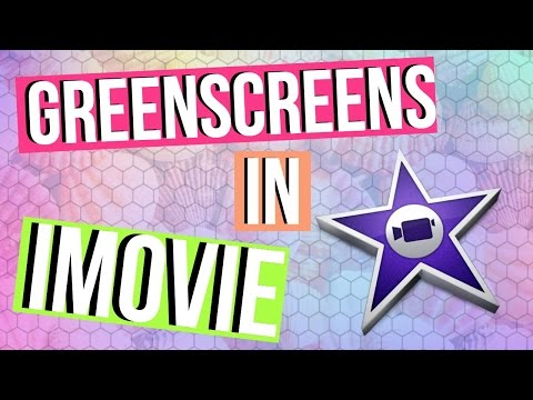 How To Add GREENSCREEN Effects In iMovie (MLG) - Green