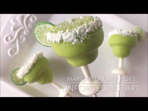 Margarita Cake Pops using My Little Cakepop Mold