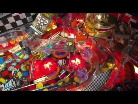 Williams Diner Pinball - Setup and Repairs
