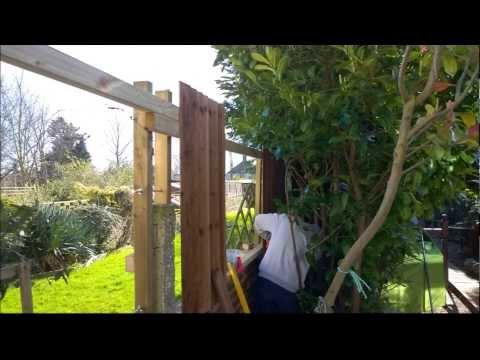 How to do Garden Fencing Job ideas