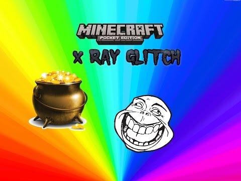 X ray Glitch Minecraft