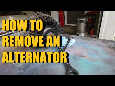 How To Remove An Alternator On A 99-03 Protege