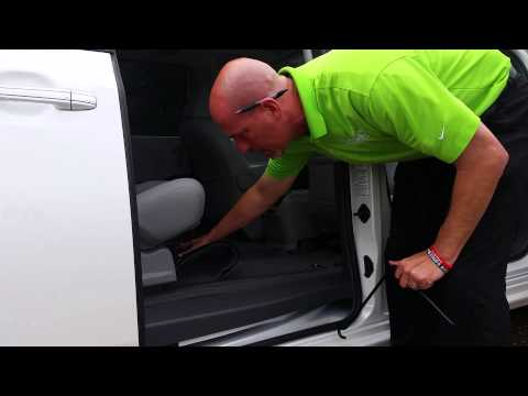 How to find and lower spare tire on Toyota Sienna with Gary Pollard The Fist Pump Guy