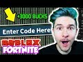 Download  I HACKED ROBLOX FORTNITE *NEW CODE* (Island Royale) MP3,3GP,MP4
