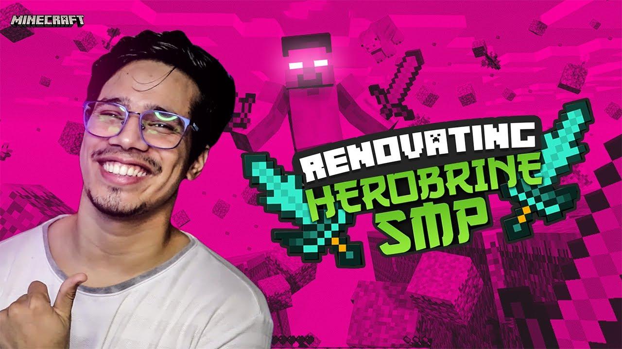 500k Special Rebuilding Herobrine SMP | Day #5
