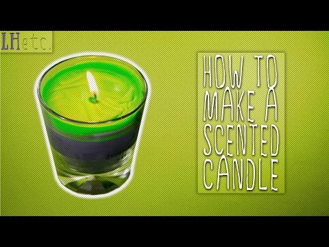 How to Make a Scented Candle