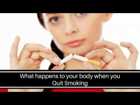 This will happen to your body after quitting smoking - quitting smoking timeline