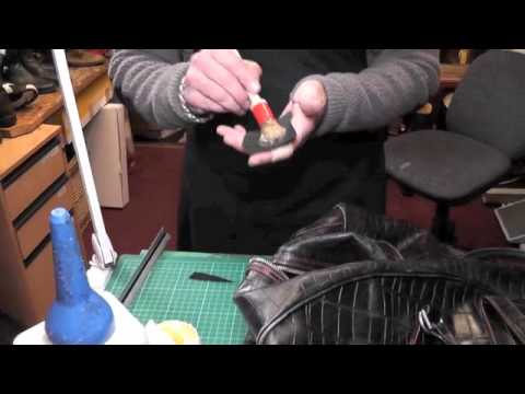 Fixing a rip in a leather bag - Pick Up My Repair