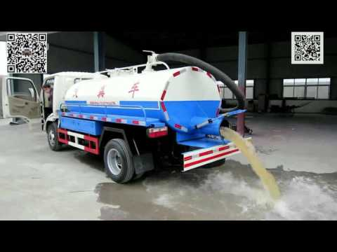 Septic Tank Truck How-to video