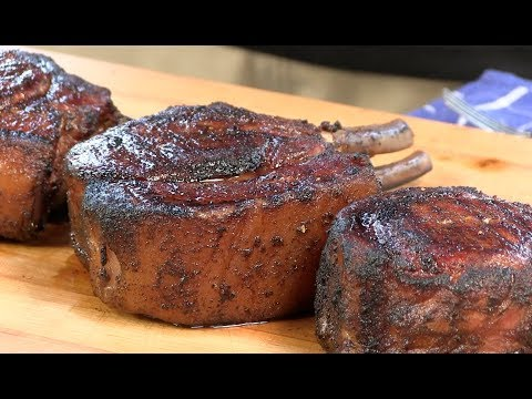 Seared Pork Loin Chops - How To Cook Pork Chops Using The Slow n Sear 2.0