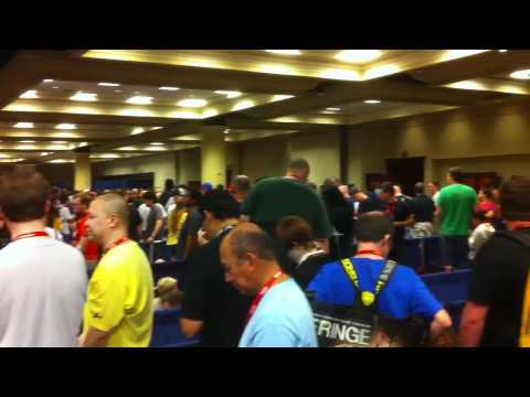 Line to buy Tickets for next year's Comic Con